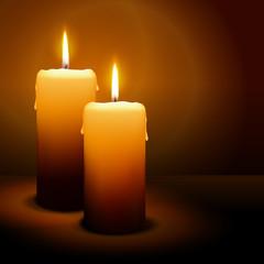 Kerzen, 2. Advent, Licht, Weihnachten, Candle, xmas, 3D, vektor