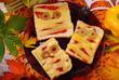 Obrazy na płótnie, fototapety, zdjęcia, fotoobrazy drukowane : funny sandwiches with mummy for halloween