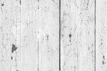 Vintage  white background wood wall.