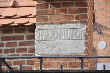 Kraków, Wawel, płyta andomiror