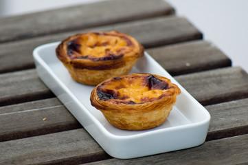 Pastel de nata Portuguese custard tarts
