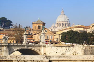 saint peter basilica view