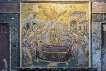 The Virgin in Chora Church, Istanbul, Turkey