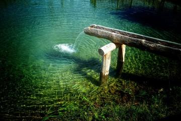 frisches Quellwasser...
