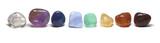 Row of Chakra Crystals - 71268941