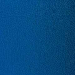 Blue leather texture and background.