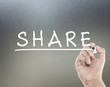 share concept