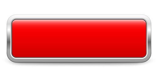 Long rectangular template - red metallic button