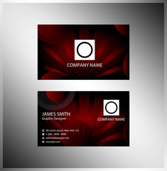 Business cards element