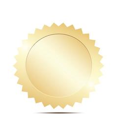 Blank gold token