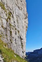 Steilwand im Alpstein