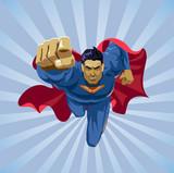 flying superhero - 71271721