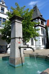 Brunnen am alten Markt in Idstein
