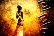 african motive ethnic retro vintage - 71271938