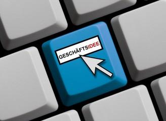 Geschäftsidee online