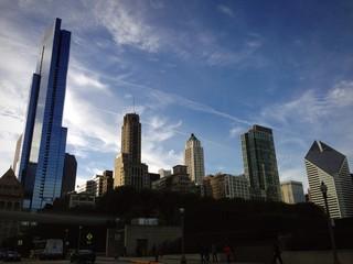 Chicago skyline grattaciei