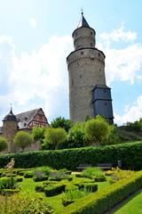 Schlossgarten und Hexenturm in Idstein