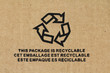 Sigle - Emballage recyclable