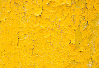 yellow background with old paint