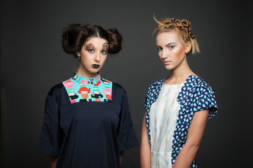 two models