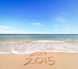 New Year 2015 is coming