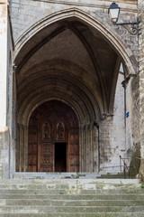 Porte d'entrée Cathédrale Saint-vincent
