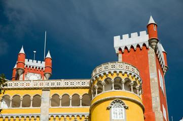 Turrets on Pena palace