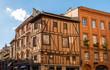 Façades à Toulouse