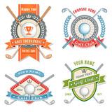 Golf Club Logos poster