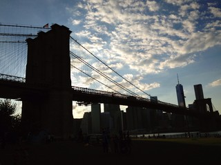 New York ponte di Brooklyn Manhattan