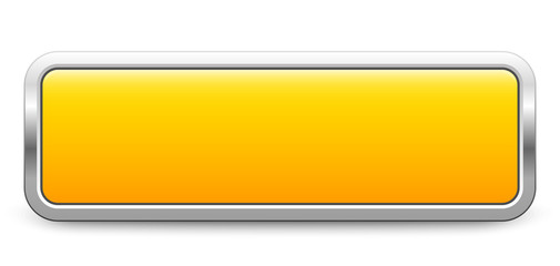 Long rectangular template - yellow metallic button