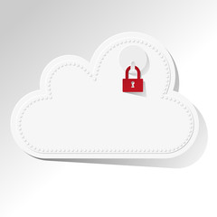 Cloud Computing Cloud-Computing Rechnen in der Wolke SAFE rot