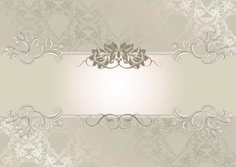 Decorative wedding background.