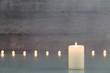 Leinwandbild Motiv Kerzenlicht