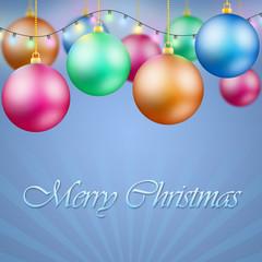 Decorazioni natalizie con scritta