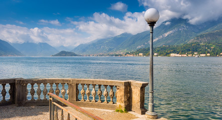 Overlooking Lake Como from Bellagio in the direction of Lenno