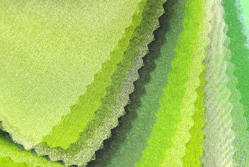 lime green organza color selection