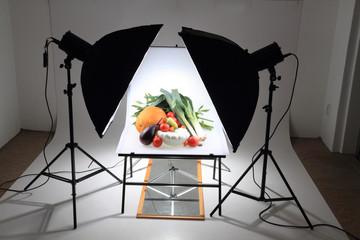 autumn vegetable in studio