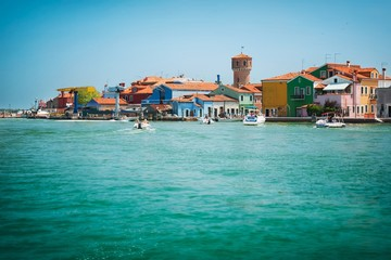 The picturesque island of Burano near Venice,