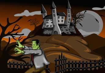 frankenstein e il castello