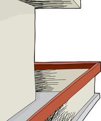 Blank Wall Balcony