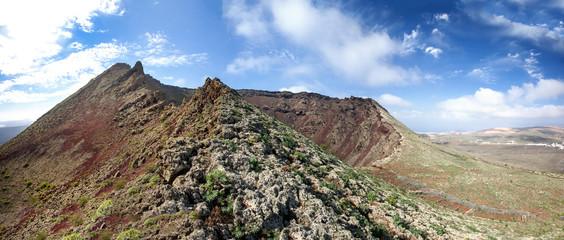 Lanzarote - Vulkan Monte Corona