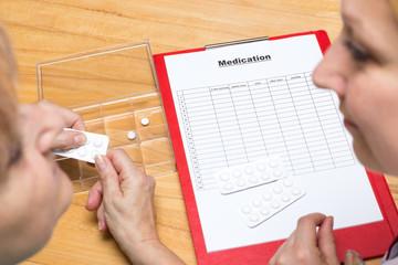 Erstellung eines Medikamentenplans