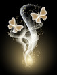 Butterflies and and smoke