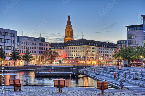 Fotobehang Poort Hafen Kiel