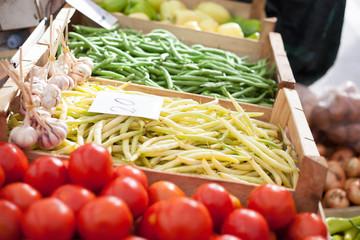 yellow beans market