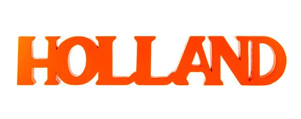 Holland in orange