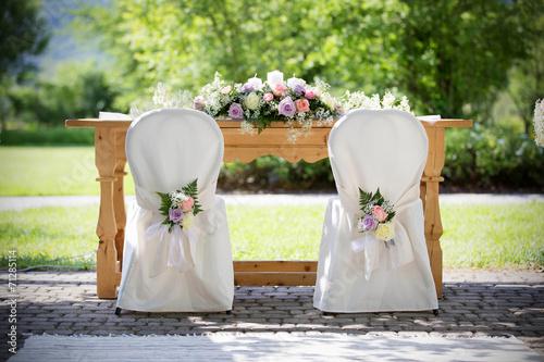 Papiers peints Fete, Spectacle Wedding Chair Covers