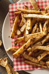 Healthy Organic Jicama Fries