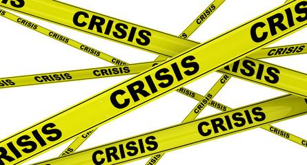 Кризис (crisis). Желтая оградительная лента
